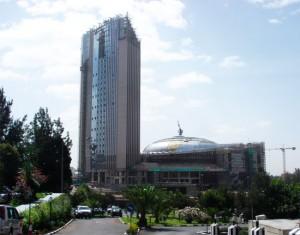 Le nouveau siège de l'Union Africaine à Addis Abeba, en Ethiopie, a été construit et financé par le gouvernement chinois pour un coût de 200 millions de dollars