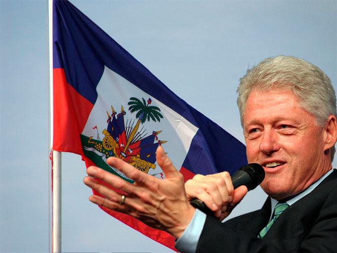 Bill Clinton visita Haïti pour la première fois en 1978, maintenant il est propulsé au rôle de proconsul du pays. Il c'est refait une vie politique en Haïti, après deux mandats consécutifs dans son pays. Il co-préside l'organisation pour la reconstruction d'Haïti, connue sur le nom de CICR gérant ainsi la destiné du pays.