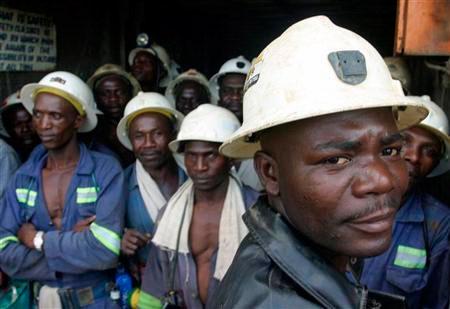 Les employés de la mine de Kansanshi, le plus gros producteurs de cuivre de la Zambie réclament de meilleurs salaires