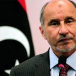 Moustafa Abdel Jalil fut ministre de la Justice sous Kadhafi. Le 23 octobre 2011 à Benghazi, il  proclame la « libération » de la Libye, menant officiellement fin à la guerre civile qui durait depuis huit mois. Le même jour, au cour de la même cérémonie il proclame l'instauration de la Charia.