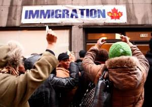 En 2011au Canada, les résidents permanents et temporaires représentaient 248 660 personnes