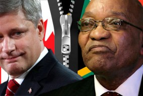 En 2011, 2.000 Canadiens vivaient en Afrique du Sud et 12.000 Sud-Africains vivaient au Canada.