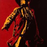 """ La lance "" de l'artiste Sud-africain Brett Murray"