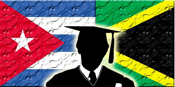 La coopération entre Cuba et la Jamaïque existe depuis longtemps. En 1970 Cuba offrit et construisit une école en Jamaïque. L'école Jose Marti Technical High School est située à Spanish Town à l'ouest de la capitale Kinston.