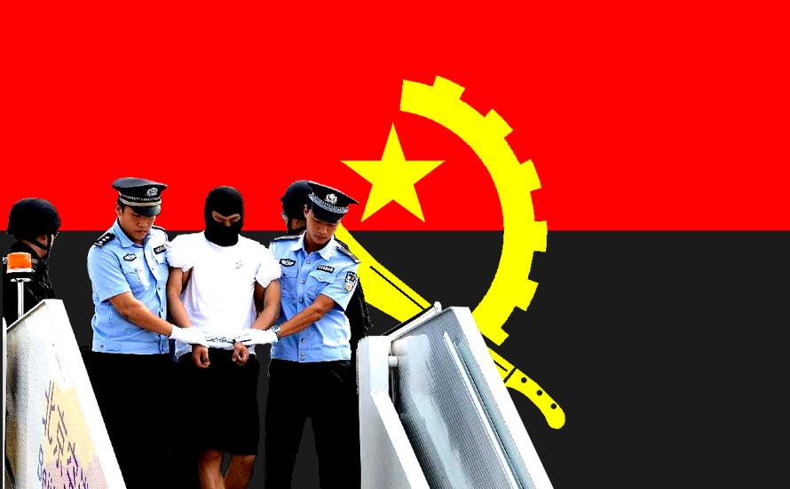 Des dizaines de milliers de Chinois vivent en Angola, et gèrent des entreprises aux intérêts chinois.  Selon des sources chinoises,  ils seraient environ 260.000 à vivre en Angola.