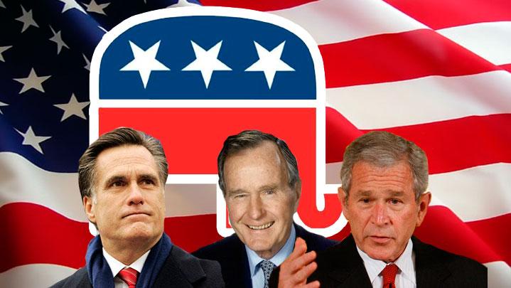 En 2006, la base sociale du Parti républicain se compose majoritairement d'hommes d'affaires, d'entrepreneurs et des membres de professions libérales. On y trouve majoritairement des hommes, des blancs d'ascendance WASP, des couples mariés avec enfants, des banlieusards, des habitants de zones rurales et des chrétiens.