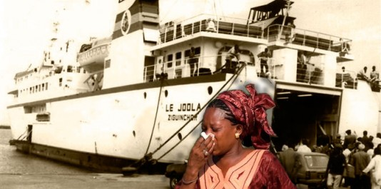 Le Joola effectuait la liaison Dakar - Karabane - Ziguinchor : il reliait la province méridionale isolée de Casamance, au reste du Sénégal et évitait ainsi de transiter par la Gambie.