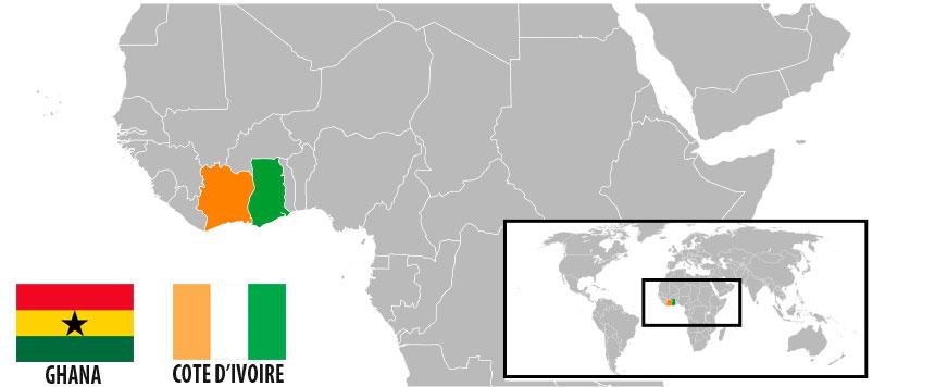 En 2010, la  Côte d'Ivoire a demandé des Nations Unies de déterminer la démarcation de la frontière maritime ivoirienne avec le Ghana. Cela s'est produit quelques jours seulement après que la firme américaine d'exploration Vanco a découvert du pétrole dans le forage en eau profonde de Dzata-1.