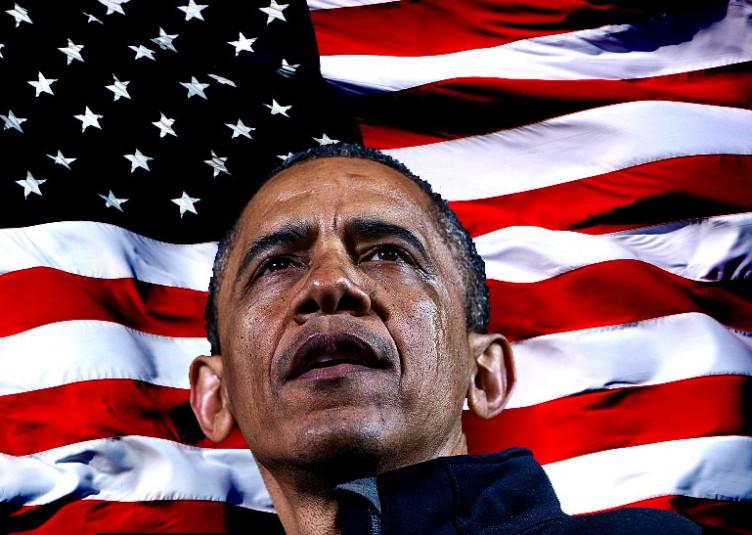Le message central de la campagne 2012 de Barack Obama a été qu'il a sauvé les Etats-Unis d'une seconde Grande Dépression après que l'économie fut sur le point de s'effondrer quand il a pris le relais de président républicain George W. Bush en 2009
