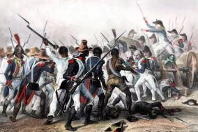 La bataille de Vertières s'est déroulée au Cap-Haïtien (anciennement Cap-Français) le 18 novembre 1803. Elle opposa les troupes commandées par le général de Rochambeau et à celles du général Jean-Jacques Dessalines, chef indépendantiste, né esclave. Ce fut la derniere bataille.