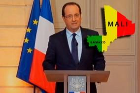 La France a effectué des frappes aériennes contre les rebelles islamistes au Mali le 11 janvier par le début de son intervention militaire destinée à mettre un terme à l'avancement des rebelles au sud qui contrôlent déjà le nord désertique du pays.