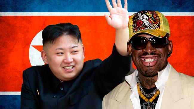 Kim Jong Un est un admirateur inconditionnel de basket, a déclaré l'ex-joueur vedette des Chicago Bulls qui espérait que sa visite briserait la glace entre les États-Unis et la Corée du Nord.