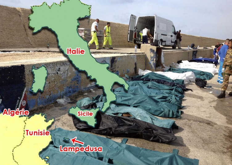 La garde côtière italienne a déclaré que 151 personnes avaient été secourues à Lampedusa.