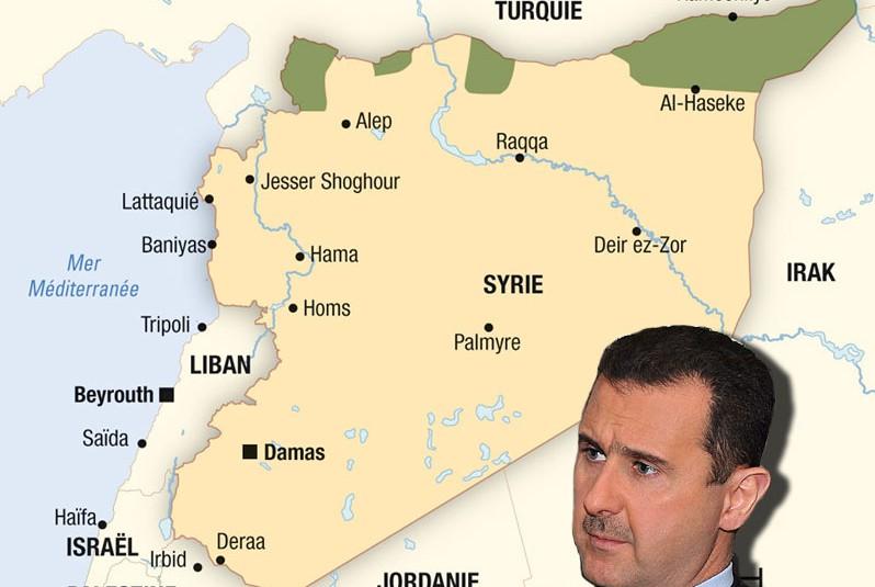 Alors que le printemps arabe s'étend en 2011 à tout le monde arabe, le gouvernement syrien prend des mesures de prévention, répression assortie de tentatives d'apaisement. Plusieurs appels à manifester sont lancés à partir du 4 février, mais les services de renseignements, les moukhabarat répriment ces manifestations. La Syrie garde en mémoire la révolte de Hama initiée par les Frères musulmans en 1982 et réprimée sans réaction internationale (2000 victimes) par Hafez el-Assad.
