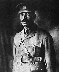 William Andrew White fut le seul officier Noir des forces britanniques lors de la Première Guerre Mondiale