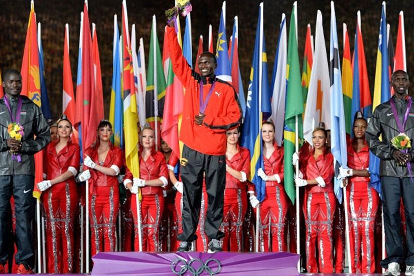 Combien de médaille à remporté l'Afrique au cours des Jeux Olympiques de 2012?