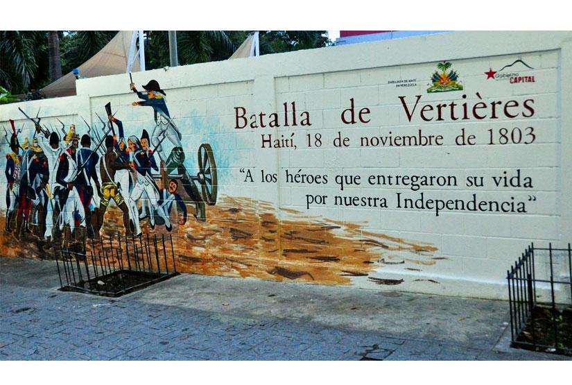 Quel est le nom du général haïtien qui vainquit les forces françaises en 1803 pour ainsi proclamé l'indépendance de l'île antillaise en 1804?