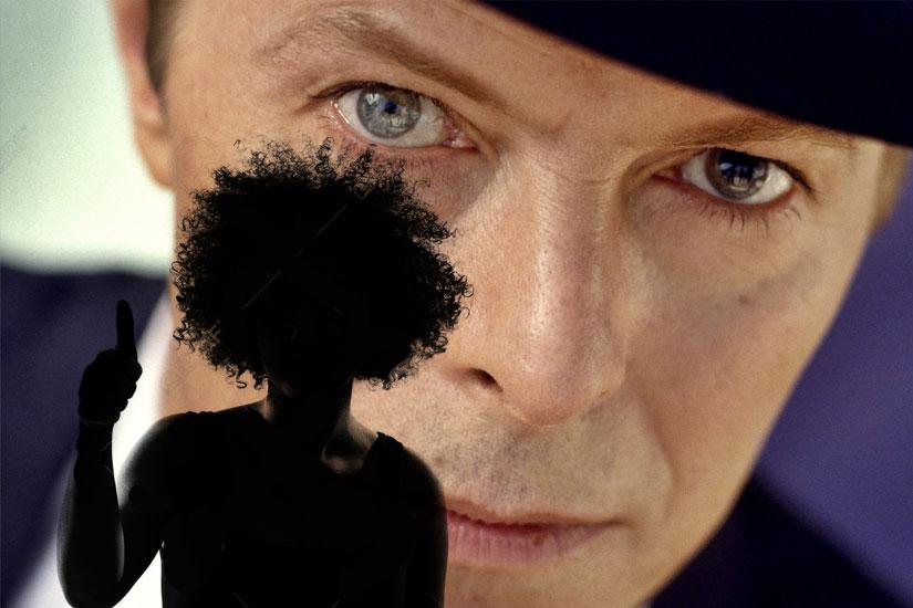 Avec quel Africaine était marié la chanteur David Bowie?