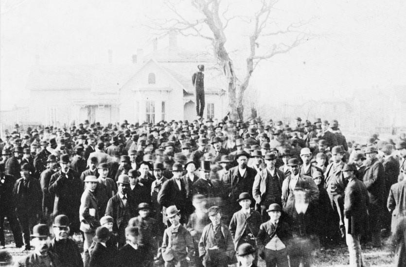 Combien de Noirs ont été pendus aux États-Unis entre 1882 et 1968?
