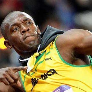 Usain Bolt de la Jamaique