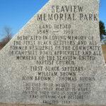 Monument sur le site d'Africville