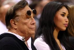 Donald Sterling, propriétaire des Clippers et sa compagne