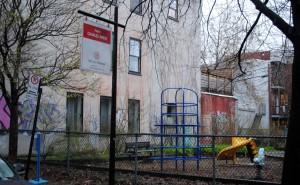 Un parc de  838 m2 offert par la Ville de Montréal  à l'honneur de Charles Drew