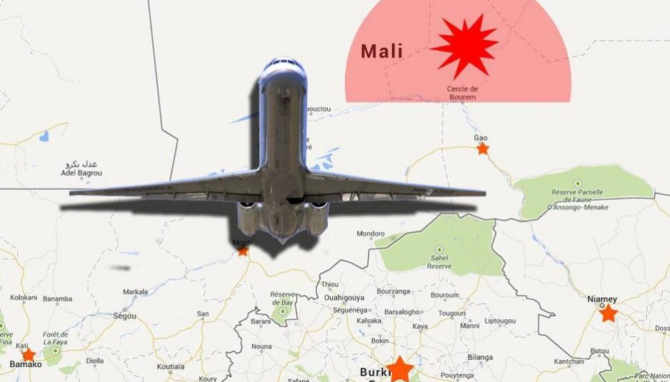 Les premiers rapports disent que l'avion volait dans une zone où il y avait de violents orages. L'avion est un Airbus MD83 qui se dirigeait à Alger.