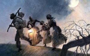 Le groupe le plus important s'installa dans le Haut-Canada, où de nombreuses communautés noires canadiennes se sont développées. Celles-ci étaient généralement situées dans la région triangulaire délimitée par les villes de Toronto, Niagara Falls et Windsor. Une fois arrivés à destination, de nombreux fugitifs étaient déçus. Bien que l'esclavage n'existât plus dans les colonies britanniques après 1834, la discrimination était encore monnaie courante. Bon nombre de nouveaux arrivants rencontraient d'énormes difficultés pour trouver du travail, en partie à cause d'une immigration européenne massive à cette époque, et le racisme manifeste était fréquent.