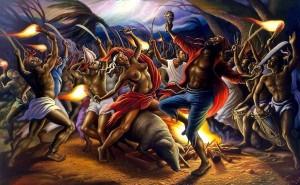 La cérémonie du Bois-Caïman est une réunion d'esclaves marrons la nuit du 14 août 1791, considérée en Haïti comme l'acte fondateur de la révolution et de la guerre d'indépendance. C'est le premier grand soulèvement collectif de Haïti contre l'esclavage. L'UNESCO a choisi le 23 août en référence au soulèvement qui a suivi cet évènement comme « Journée internationale du souvenir de la traite négrière et de son abolition »