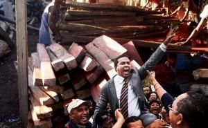 Libération du directeur du quotifien « Madagascar Matin », Jean-Luc Rahaga à Antananarivo.