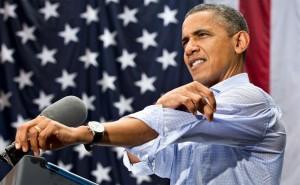 Barack Hussein Obama II (né le 4 août 1961) est le 44e et actuel président des États-Unis, et le premier Afro-Américain à occuper ce poste. Né à Honolulu, Hawaï, Obama est un diplômé de l'Université de Columbia et de Harvard Law School