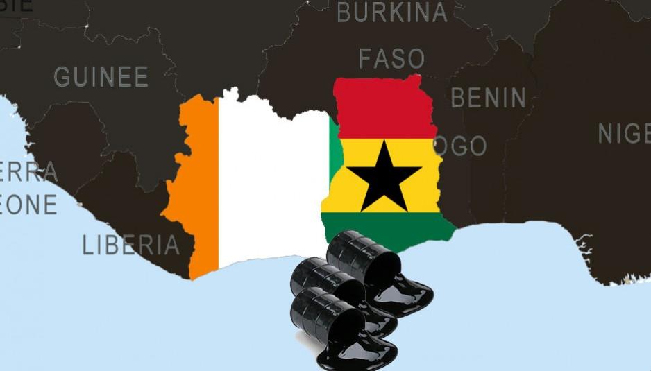 Le Ghana et la Côte d'Ivoire partagent une frontière terrestre de 640 km.