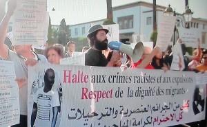 Manifestation contre le racisme à Rabat le 11 septembre 2014