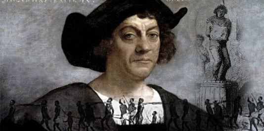 Pendant plusieurs années, Christophe Colomb organise le pillage et la soumission au tribut des Autochtones et réduit en esclavage les habitants des Caraïbes.