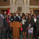 L'Institut africain des sciences mathématiques, ou AIMS, est arrivé sur la Colline du Parlement canadien le 1er octobre 2014. Avec l'aide canadienne, AIMS a produit un nombre impressionnant de plus de 731 diplômés de 41 pays africains dont plus de 30 pour cent de ces chercheurs sont des femmes.