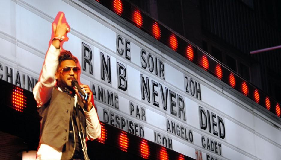 Angelo Cadet animait le RnB never Died au Club Soda le 7 décembre à Montréal