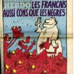 Une du journal satirique Charlie Hebdo