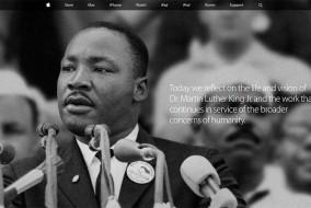 Page d'accueil su site web de Apple (www.apple.com), lundi 19 janvier 2015