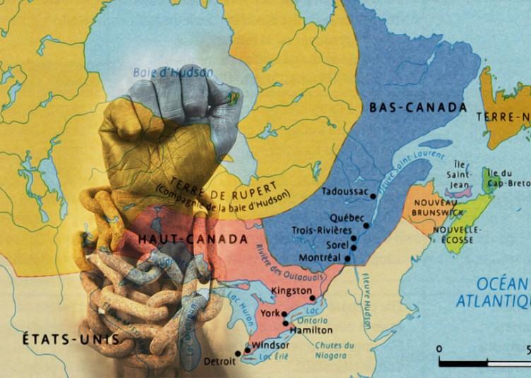 L'importation d'esclaves a d'abord été interdite dans le Haut-Canada (Ontario), en 1793. Malgré les efforts des anti-esclavagistes de la région de Montréal, il faudra attendre jusqu'au 28 août 1833 pour que l'esclavage soit enfin aboli dans la province de Québec. L'émancipation définitive et généralisée n'intervint que le 1er janvier 1838.