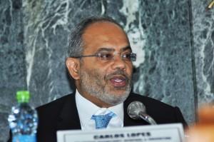 Le Bissau-Guinéen, M. Carlos Lopes, Secrétaire exécutif de la CEA.