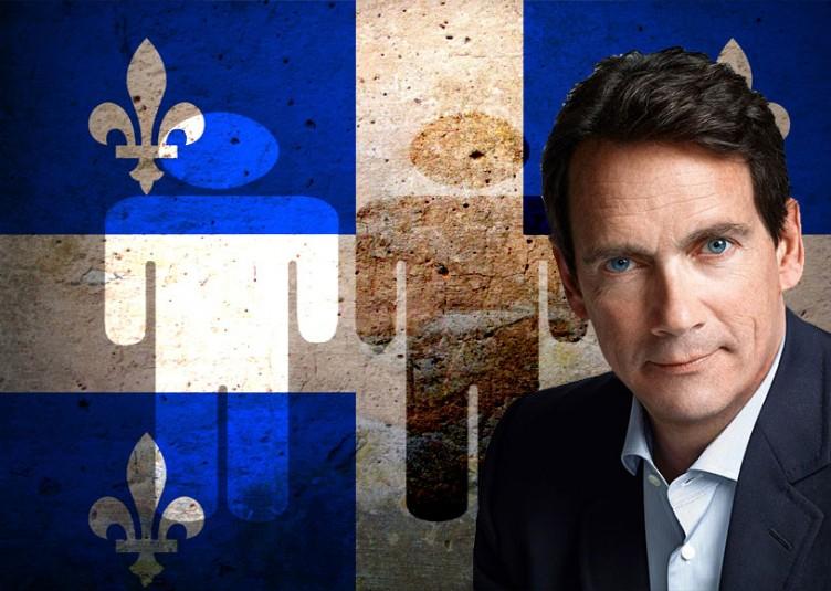 Pierre Karl Péladeau est le fils du fondateur de Québecor, Pierre Péladeau.