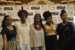 Conférence de presse de la Black Fashion Week Montreal tenue le 28 mai 2015 à Montréal