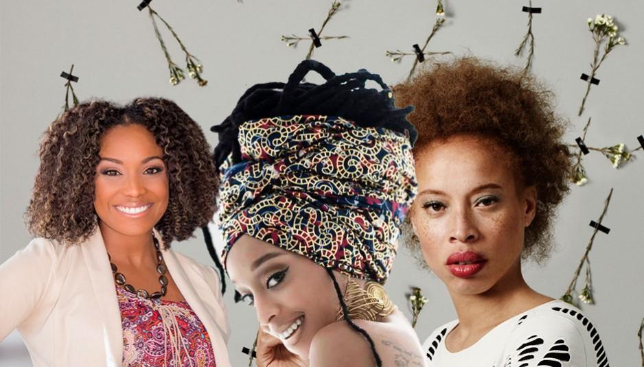 Les avocates du cheveu naturel 0 ( de gauche à droite) Audrey Davis, Nerissa Irving et Stacey McKensie