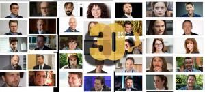 Candidats au prix Gémeaux 2015, tinguant l'excellence de la télévision francophone au Canada.