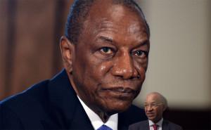 Alpha Condé est investi président de la République le 21 décembre 2010 à Conakry, en présence de 13 chefs d'État africains et de délégations gouvernementales d'autres continents. Il promet « une ère nouvelle » et annonce son intention de devenir « le Mandela de la Guinée » en unifiant et développant son pays