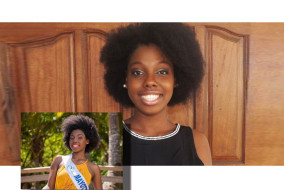 La fierté de Mayotte, la ravissante Ramatou Radjabo, Miss Mayotte 2015