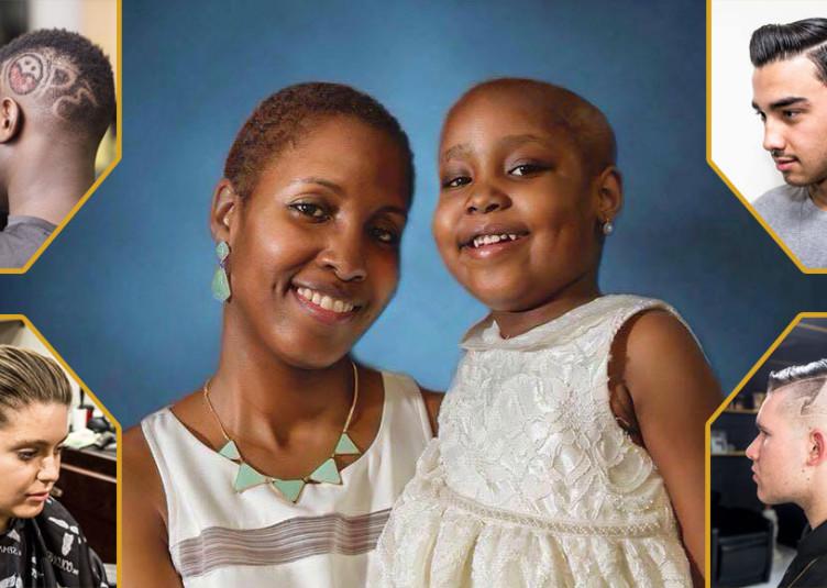 La jeune Lahissa, que l'on aperçoit en compagnie de sa mère, a été diagnostiquée d'une leucémie aiguë lymphoblastique en juin 2015. La fillette de cinq ans est présentement en rémission.