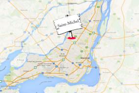 Avec un population deux fois plus dense que le reste de la ville de Montréal, 1 habitant sur 2 du quartier Saint-Michel est issue de l'immigration. Aussi, selon le portrait du quartier Saint-Michel réalisé en avril 2013 par Vivre Saint-Michel en santé, une proportion importante de nouveau-nés (70,7%) vit dans un foyer dont la langue maternelle du père ou de la mère n'est ni le français ni l'anglais.