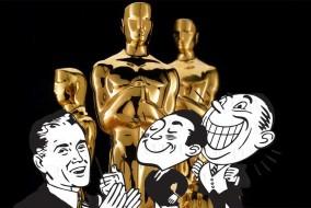 """La 88e cérémonie des Oscars du cinéma (88th Academy Awards), organisée par l'Academy of Motion Picture Arts and Sciences, est prévue le 28 février 2016 au Dolby Theatre de Los Angeles pour récompenser les films sortis en 2015. Cette année, le slogan est """"We all dream in gold"""" (Nous rêvons plus tous en or)"""